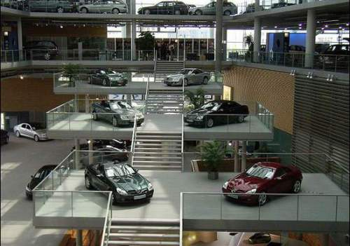Power Cars The Most Beautiful Car Dealerships Mercedes